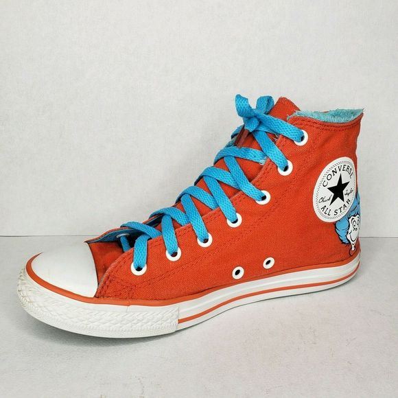 Converse All Star Hi Top Dr Seuss Thing 1 Sneakers